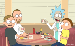 rick and morty comm